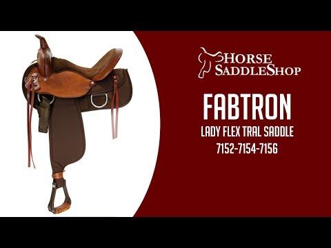 Fabtron Lady Flex Trail Saddle Video Review