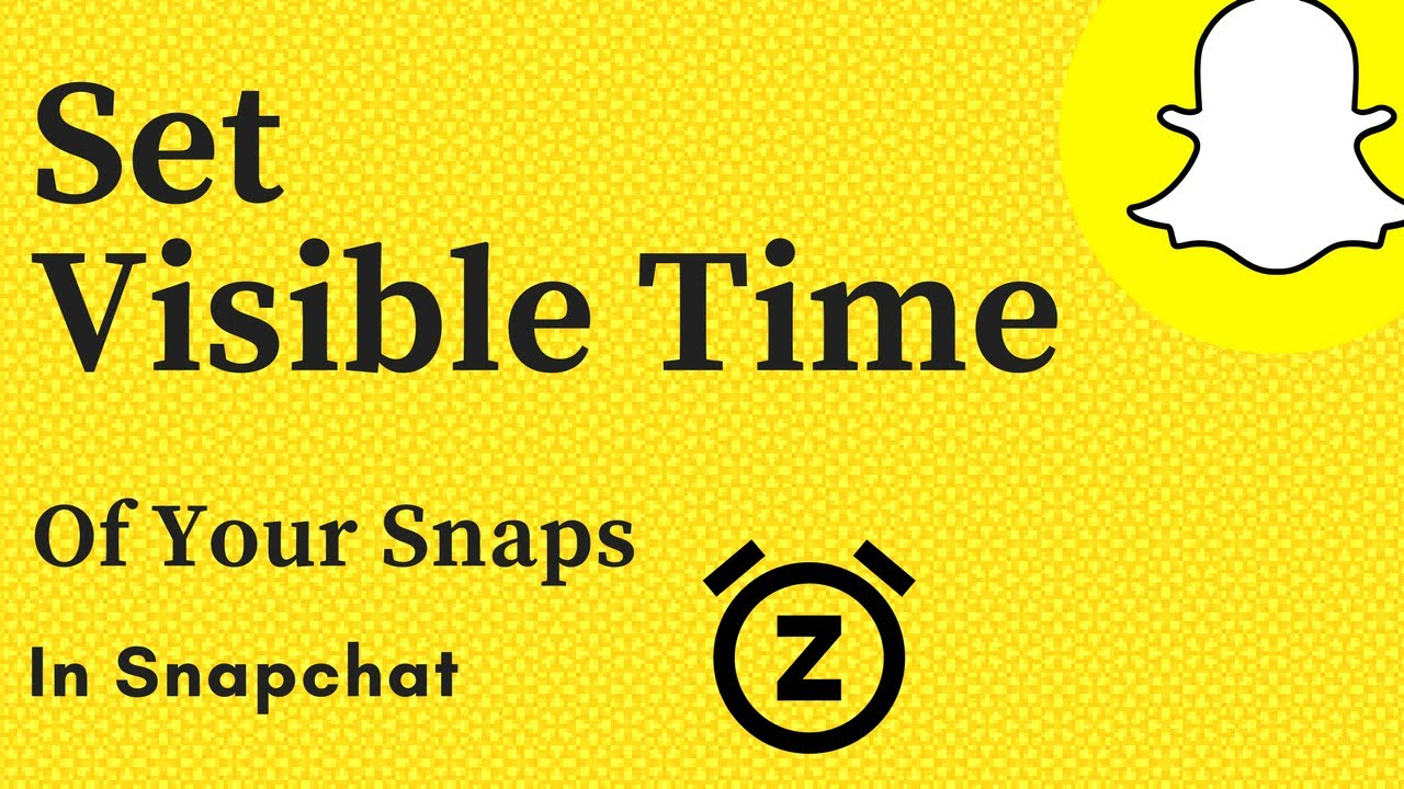 How to take timed pictures on snapchat