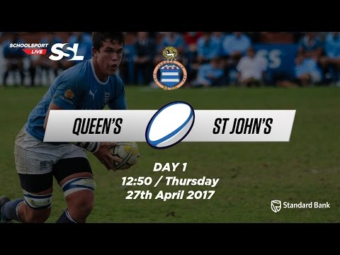 Grey Festival: Queen's College 1st XV v  St John's 1st XV, 27 April 2017