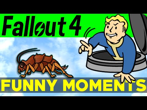 Fallout 4 Funny Moments - EP.1 (FO4 Funny Moments, Mods, Fails, Kills, Fallout 4 Funtage)