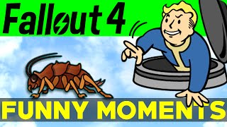 fallout 4 funny moments ep 1 fo4 funny moments mods fails kills fallout 4 funtage