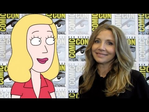 'Rick and Morty' : Sarah Chalke on Beth in Season 3 from ComicCon 2016