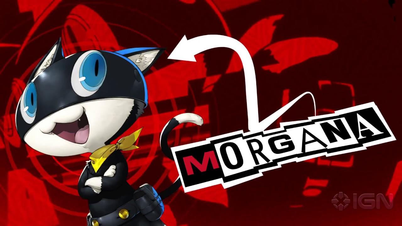 Persona 5 Wallpaper Morgana Cute Persona 5 Official Morgana Trailer English Youtube