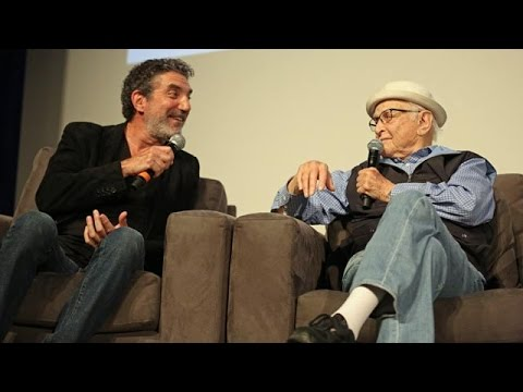 TV Comedy legends Chuck Lorre and Norman Lear conversation at WGA
