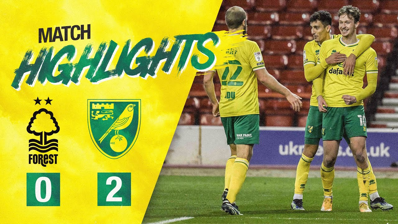 HIGHLIGHTS | Nottingham Forest 0-2 Norwich City