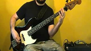Slipknot - The Negative One - Groove Metal/Nu Metal Bass Lesson