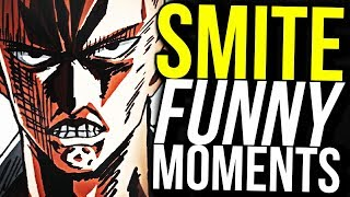 THE ULTIMATE ONE PUNCH MAN BUILD! (Smite Funny Moments)