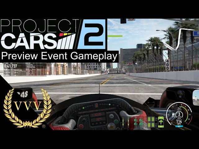 Project Cars 2 Preview To Upcoming Gameplay