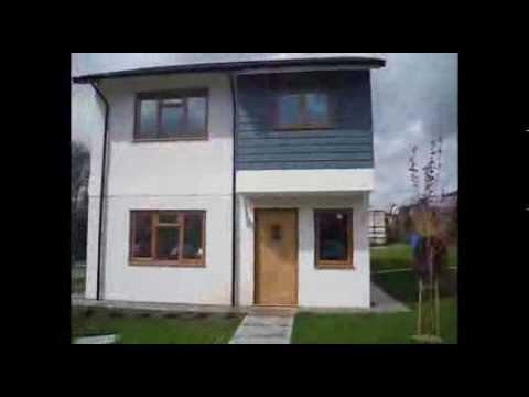 Flat Pack Eco Build House - YouTube