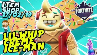 *NEW* LIL WHIP SKIN + SPRINKLES WRAP GAMEPLAY! Fortnite Item Shop [February 17th, 2019]