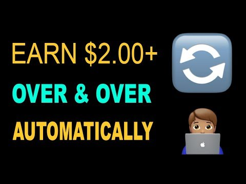 EARN $2.00 OVER AND OVER AGAIN Autopilot * WORKS WORLDWIDE*