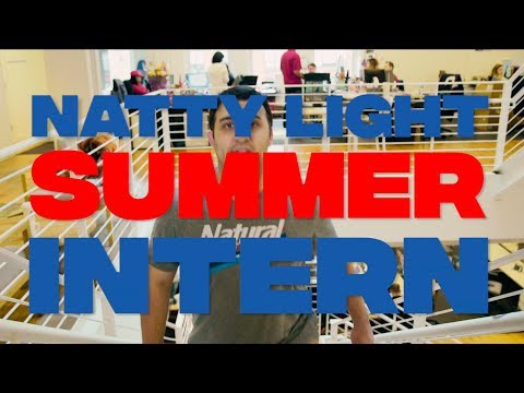 Joe Johnson - Natty Light Summer Intern Recruitment Video
