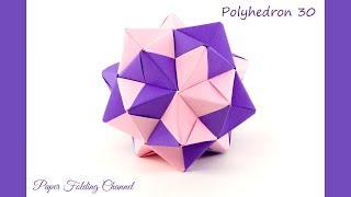 How to make 3D star (Polyhedron 30)