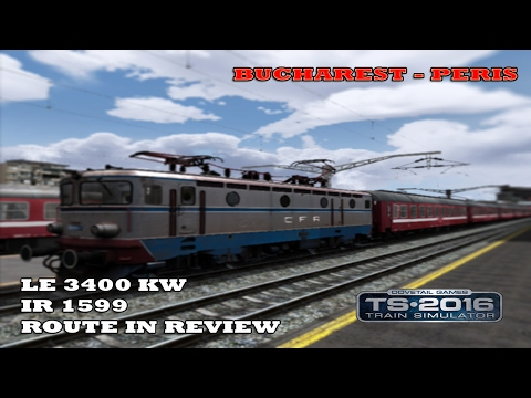 Bucharest - Peris | Route - In - Review | IR 1599 [ Real-time route ]
