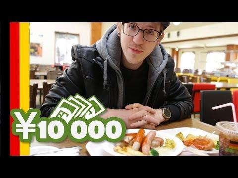 10 000 Yens au German village