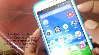 How To Take Screenshots in Micromax Android Phones