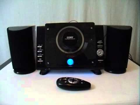 Testing Coby CXCD377 Mico CD Player Stereo System