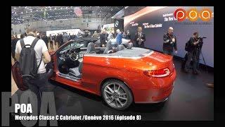 Mercedes Classe C Cabriolet & Mercedes Classe E 2016 - Salon de Genève 2016 8/20
