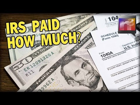 You Will Be SICK When you Learn HOW MUCH the IRS Paid to collect Tax Debts