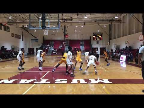 Bladensburg High School vs High Point High School basketball (V)