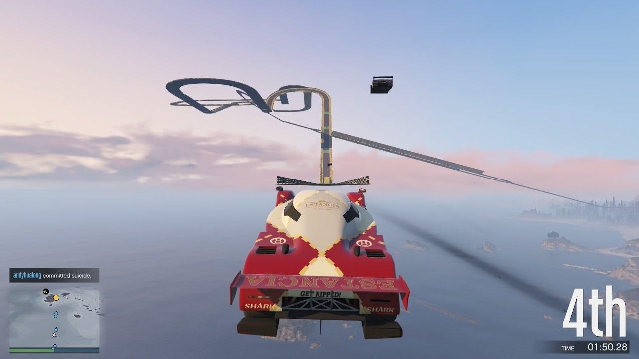 GTA 5 – Đua Xe Ôtô Trên Mây, Cày Tiền Để Dành Cua Gái ^^