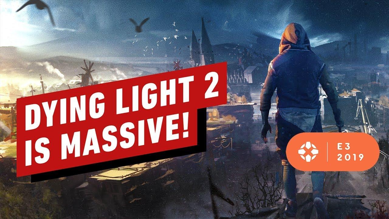 Sie werden wahrscheinlich nur 50% von Dying Light 2's in Ihrem ersten Durchspielen sehen - E3 2019 + video