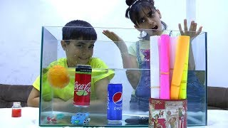Sink or Float | Cool Science Experiment for Kids with Guka and Nastya