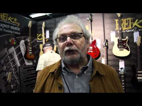 Interview with Trev Wilkinson At NAMM 2012 PT 1
