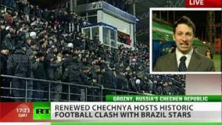 Brazil World Cup winners sneak victory in Chechnya