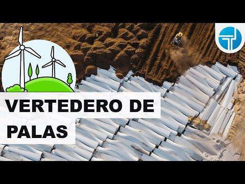 Reciclaje de palas: uno de los grandes problemas de la energía eólica