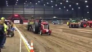 Indoor Tractor Puling in Oklahoma