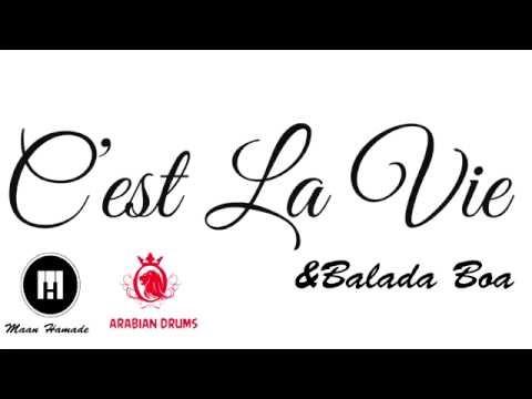 C'est La Vie & Balada Boa Mashup-drum cover arabian drums