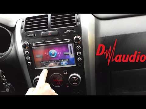 Штатное головное устройство Suzuki Grand Vitara 2006-2014 2015 CarMedia 7246