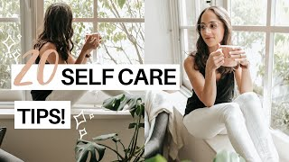 20 Ways To Prioritize Your Mental Health While Stuck At Home | Self Care Tips!