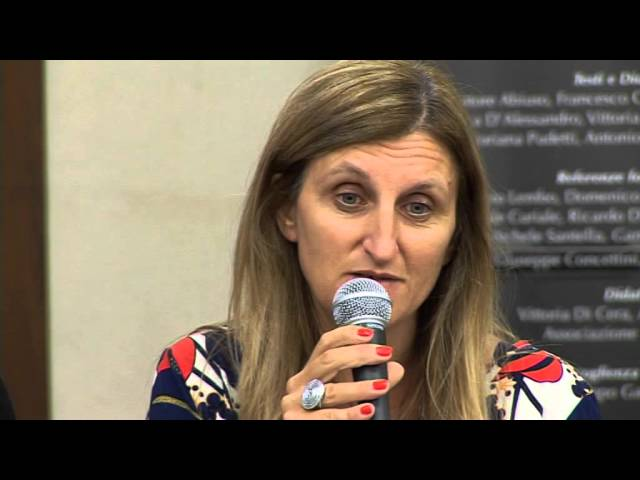 Gambatesa 17-08-2015: convegno cardioparty - intervento Carmelina Genovese   Sindaco