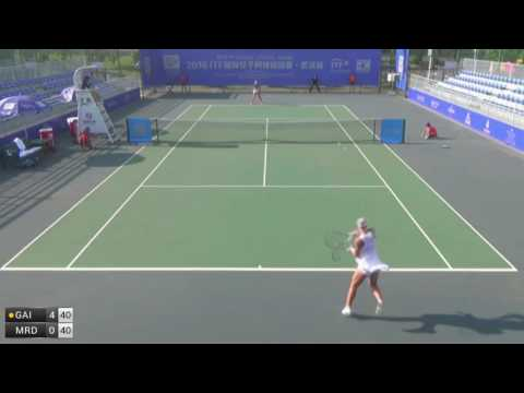 Gai Ao v Mrdeza Tereza - 2016 ITF Wuhan