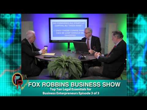 FoxRobFeb12epi3 Gene Curry, Attorney-at-Law, Top 10 Legal Essentials Part 3