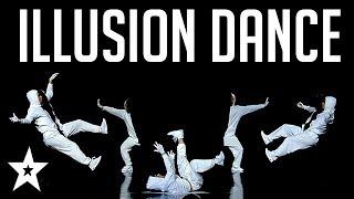 Unique Illusion Dance Gets GOLDEN BUZZER On Spain's Got Talent!   Got Talent Global