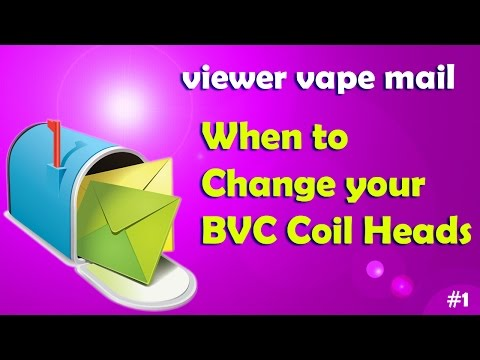 When To Change Your Aspire BVC Coil Heads - Viewer Vape Mail #1
