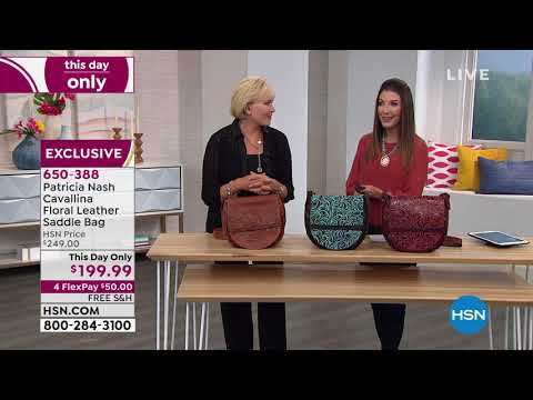 HSN | Patricia Nash Handbags . http://bit.ly/2tFbjqf