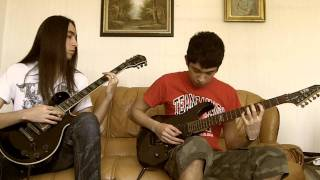 """Trivium """"Caustic Are The Ties That Bind"""" Dual Guitar Cover"""