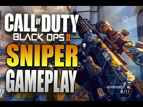 "Nine Lives - Call of Duty Black Ops Sniper Gameplay BO2 ""Multiplayer Gameplay"""