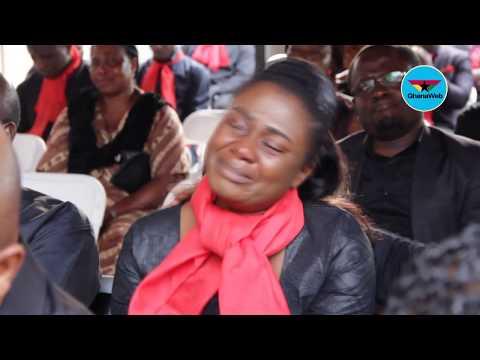Tears flow at KABA's memorial service