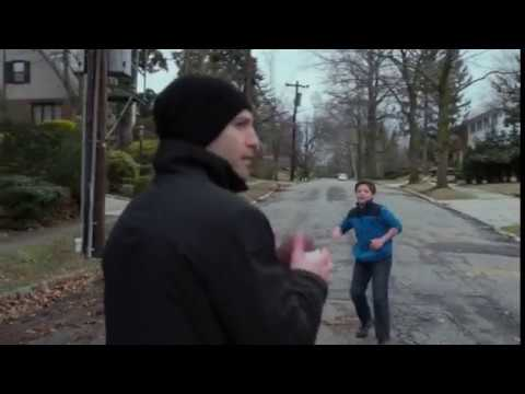 The Punisher,Frank Castle playing ball with Zach Lieberman .