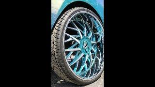Custom Camaro With INSANE 32-Inch Wheels (Vertical Video)