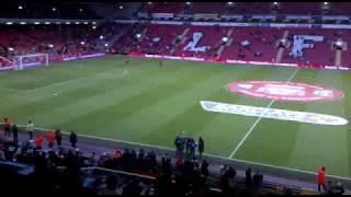 Liverpool:Inside anfield.Mainstand Block Mc