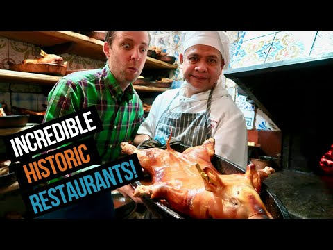 5 FAMOUS + HISTORIC Madrid Restaurants (including Botin!)