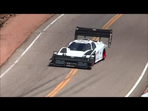 Pikes Peak International Hill Climb 2012 Cody Loveland Lovefab NSX