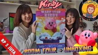 ROOM TOUR HASIL RENOVASI MARKAS + UNBOXING FIRST 4 FIGURES WARP STAR KIRBY❗️UWU MAKSIMAL❗️😍