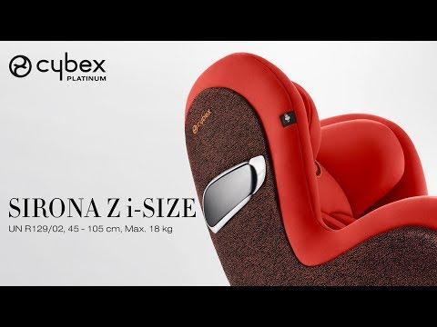 CYBEX Sirona Z I-Size Tutorial